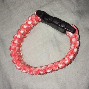 Blood Orange Parachute Bracelet